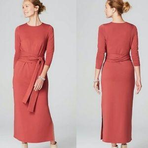 J. JILL Pure Jill Belted Maxi Dress